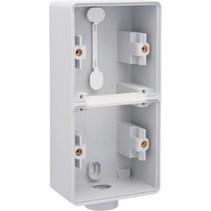 Tweevoudige doos met kabelinvoer M20 700-84201