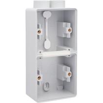Tweevoudige doos met kabelinvoer 2 x M20 700-84202