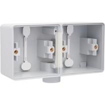 Tweevoudige doos met kabelinvoer M20 700-84801