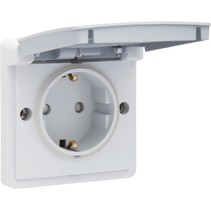 Waterdicht stopcontact met randaarde NL, 700-36800