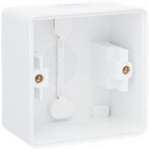 Opbouwkader enkelvoudig wit 701-83101
