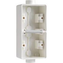 Tweevoudige doos met 2 ingangen Wit 701-84211