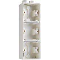 Drievoudige doos met kabelinvoer 2 x M20 701-84302