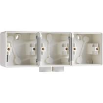 Drievoudige doos met kabelinvoer 2 x M20 701-84902