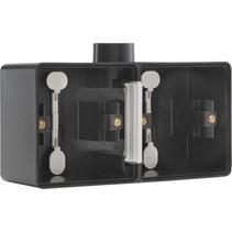 Tweevoudige doos met kabelinvoer M20 761-84801