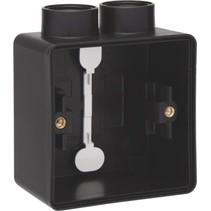 Enkelvoudige doos met kabelinvoer 2 x M20 761-84102