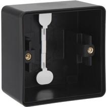 Build-up frame single black 761-83101