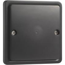 Hydro waterdichte blindplaat, zwart 761-38500