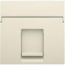 afwerkingsset, cream, enkelvoudige datacontactdoos, 100-65100