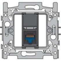 Sokkel enkelvoudig RJ45 UTP Cat6 170-65161