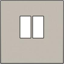 afwerkingsset, Grijs, enkelvoudige luidsprekeraansluiting, 102-69801