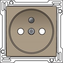 afwerkingsset standaard stopcontact 123-66601