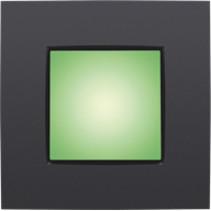 Orientation lighting 900lux, green light