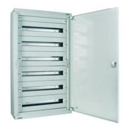 Eaton Metal distribution box 144 modules - 6 rows - 105535