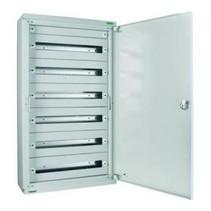 Metal distribution box 216 modules - 9 rows