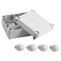 Junction box with universal input 100x100x60