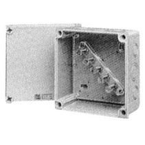Junction box with terminal support 600524