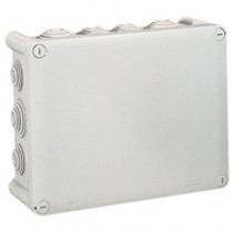 Plexo junction box with 14 cable entries 240x190mm