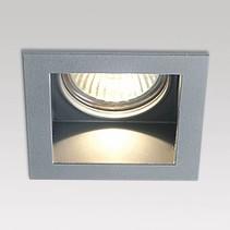 Carree II S1 recessed spot 12V - aluminum gray