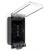 Opbouwbehuizing voor Aurus anthraciet TDS90037