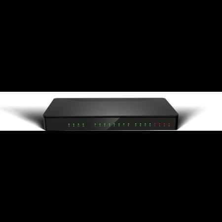 Fasttel Fasttel IPPBX, IP telefooncentrale met 2 analoge lijnen IPPBX2-8-8