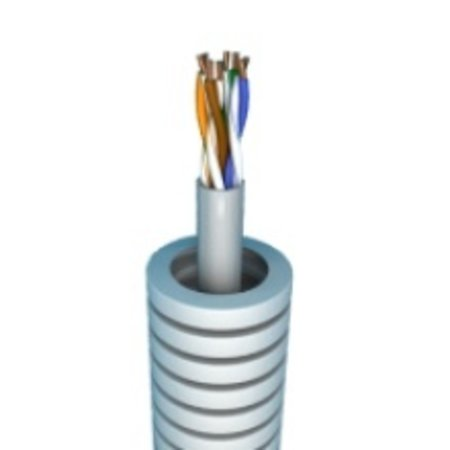 Flexible tube with UTP Cat6 - roll 25M