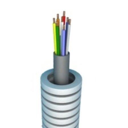 Flexible tube with SVV (control cable) 8 x 0.8 - roll 50 m