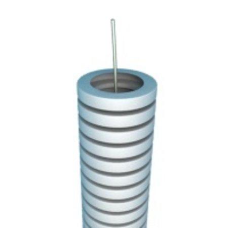 Flexibele buis 25mm met trekdraad - rol 50m