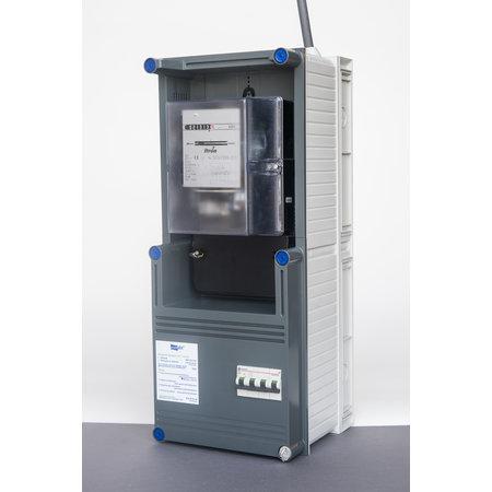Elektriciteitsmeterkast 25D60 met scheider ELOS125A