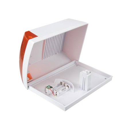 dummy siren with flashing LED indicator