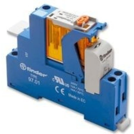 Finder Interface relay 230VAC, 16A - 1 N.O. contact