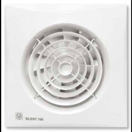 Soler & Palau Badkamer ventilator Silent 100 CZ- 12V
