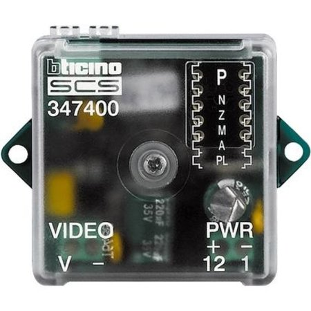 Bticino Bticino interface for analog camera to bus system - 347400