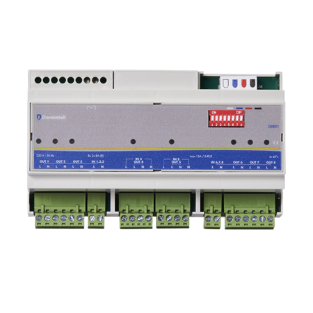 Domintell Domintell biplor 8 chanell output module - DBIR01