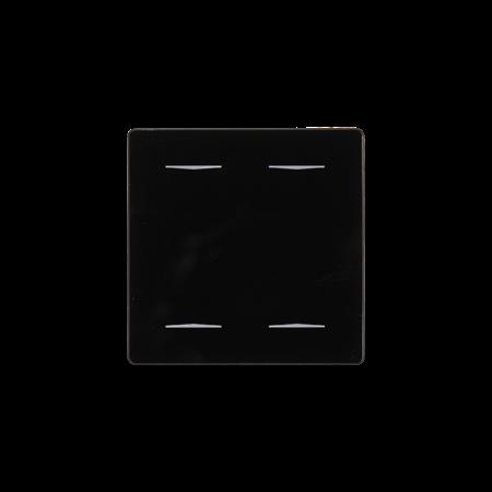 Domintell Domintell Rainbow - glasknop met 2 RGB toetsen - DPBR02