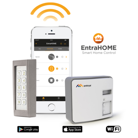 Entrya EntraHOME kit met cifero codeklavier