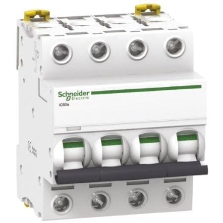 Schneider Automatische zekering 3P+N - 63A - 4.5kA - curve C