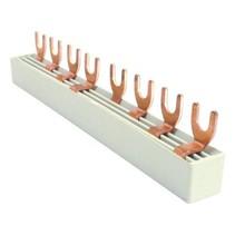Aansluitrail 4P voor 2P automaten -18 modules