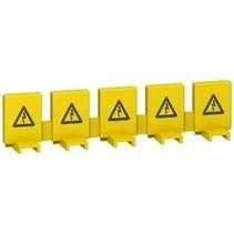 Beschermkap voor aansluitrail- per 5 stuks