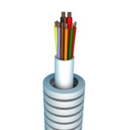 Flexibele buis 50m alarm kabel 6 x 0,22 + 2x0,75