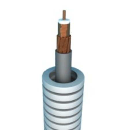 Flexible tube with coax cable, Telenet approved