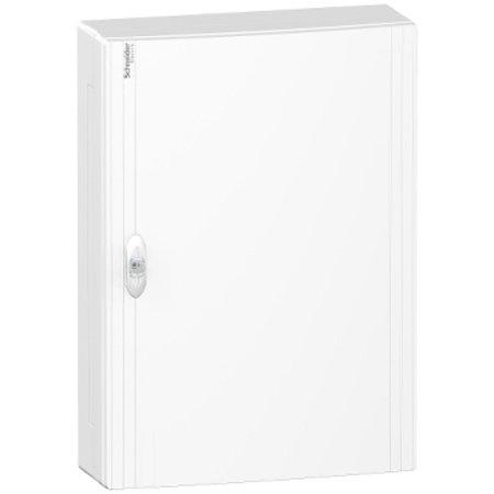 Schneider Boxplus verdeelkast met volle deur, 54 modules - 3 rijen.