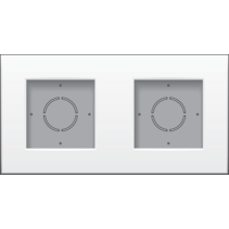 Tweevoudige opbouwdoos 101-80200