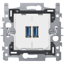 Smart 2xUSB charger - Niko 420-00510