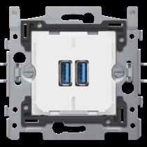 Smart 2xUSB lader - niko 420-00510