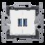 Niko Niko Smart 2xUSB charger - Niko 420-00510