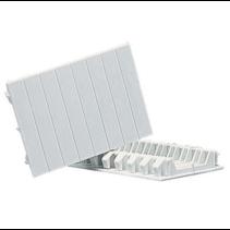 Deelbare afdekstrips voor verdeelkasten, 4 modules