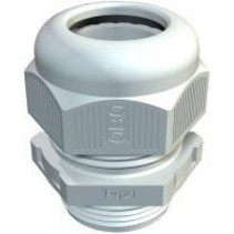 PVC cable gland M32, gray