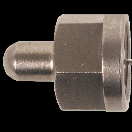 Hirchmann RF 75 afsluitweerstand F-connector