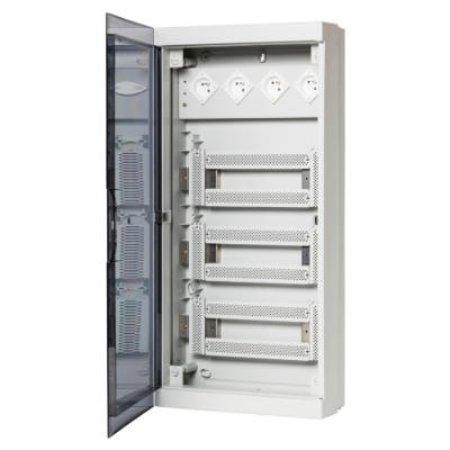 ABB Industrial Fix-O-Rail multimediakast - 4 rijen